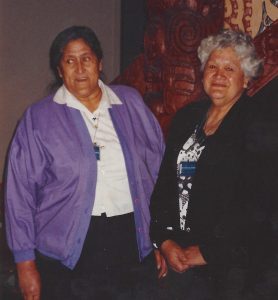 Bessie Walters and Betty Rewi, 1993
